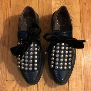 Marc by Marc Jacobs Berry Oxford Creepers